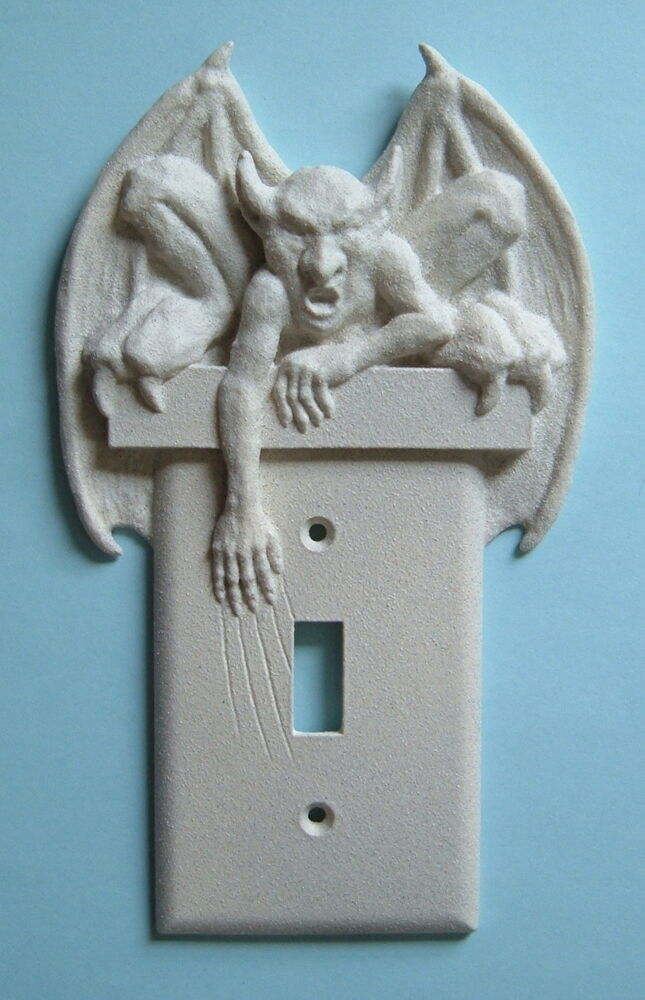 Best Gargoyle Light Switch Plate Wall Cover Toggle Goth Gothic This Month
