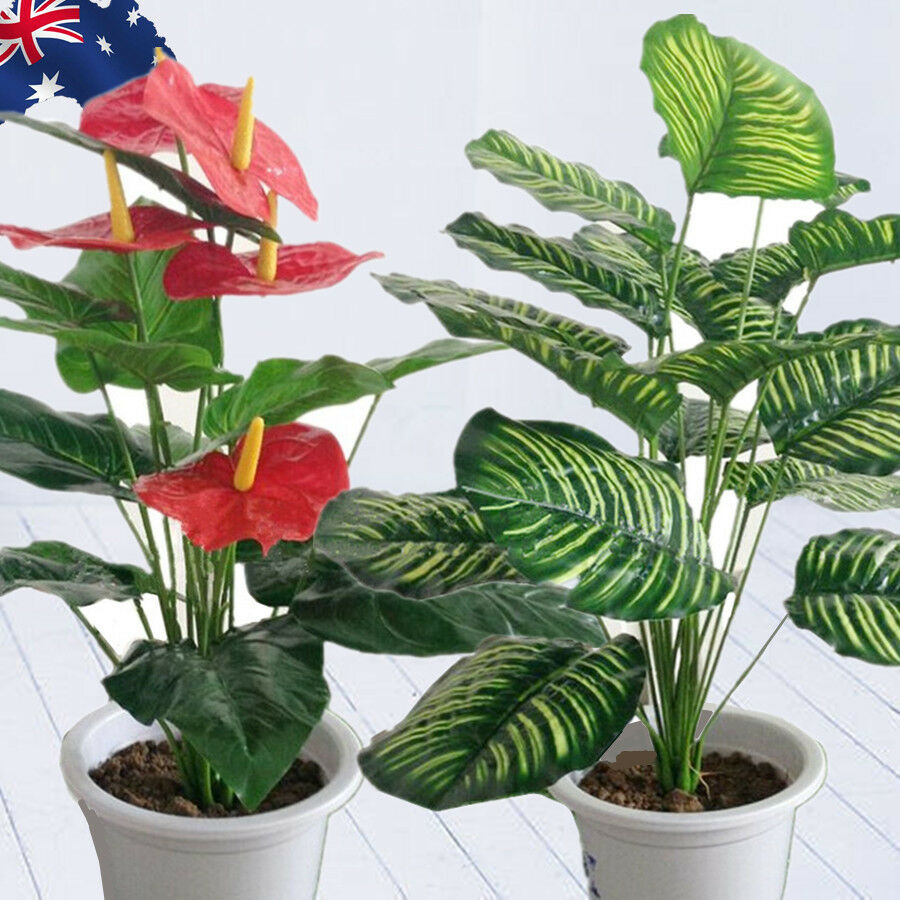 Best Artificial Plants Rohdea Leaves Fake Home Decor Flowers This Month