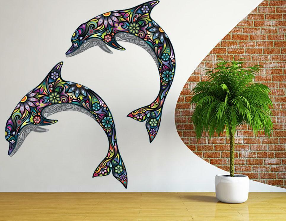 Best Dolphin Wall Sticker Vinyl Art Animal Removable Art Vinyl This Month