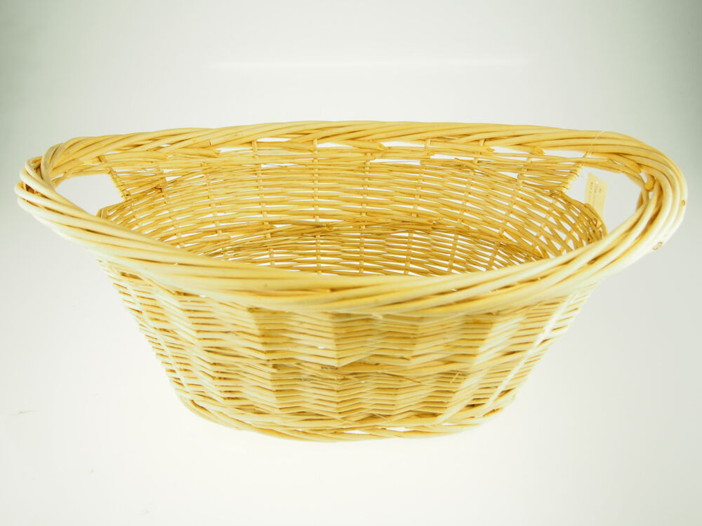 Best Large Decorative Straw Wicker Banquet Floral Flower Bread This Month