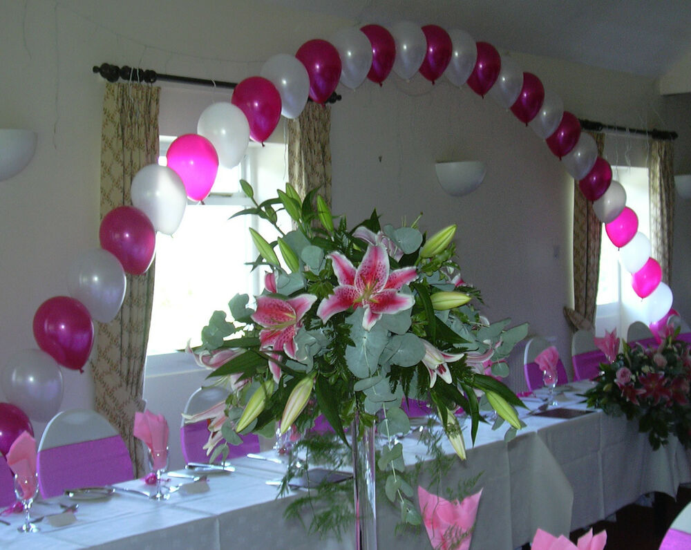 Best Top Table Buffet Table Large Helium Balloon Arch Diy Kit This Month