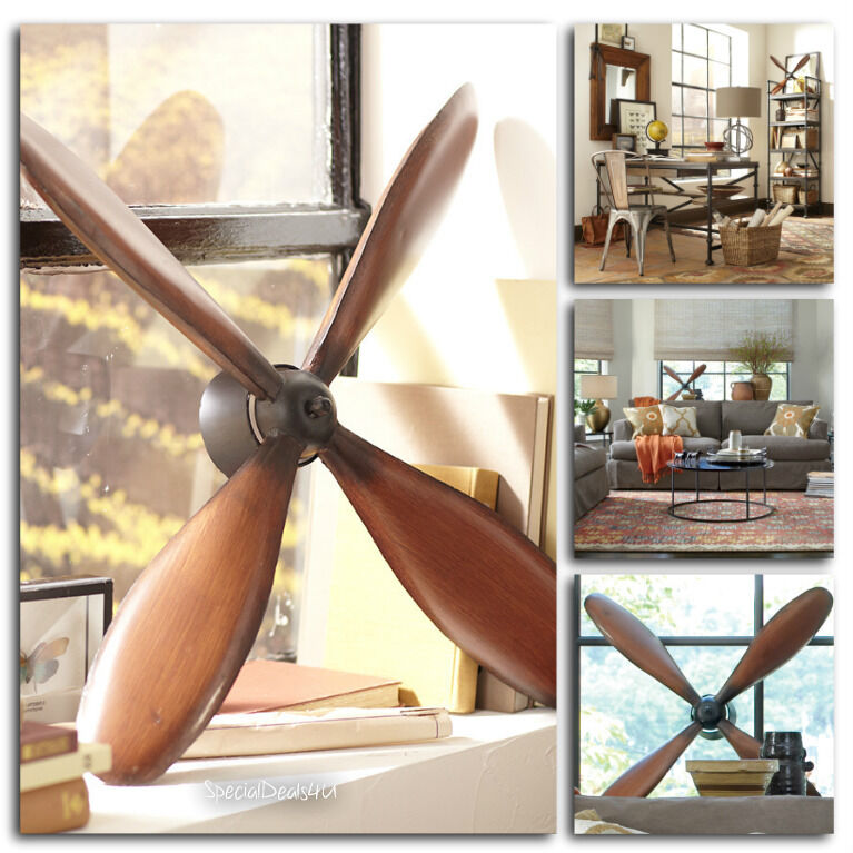 Best Vintage Plane Propeller Wall Hanging Art Home Decor This Month
