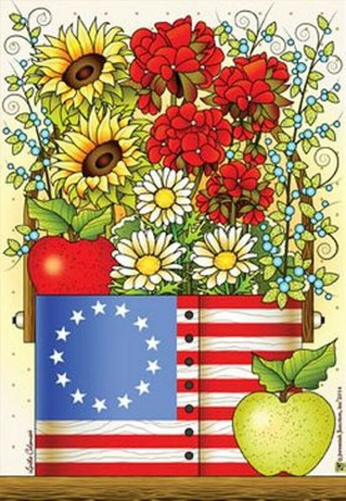 Best My Country Blessings Small Decorative Garden Flag Yard Art This Month