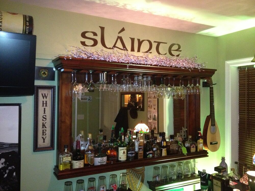 Best Slainte Custom Bar Decor Irish Celtic Cheers Decal Ebay This Month