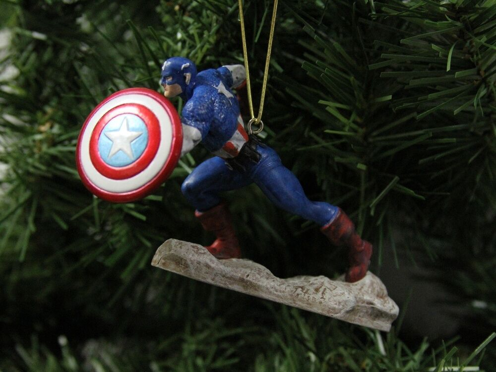 Best The Avengers Captain America Superior Christmas Ornament This Month
