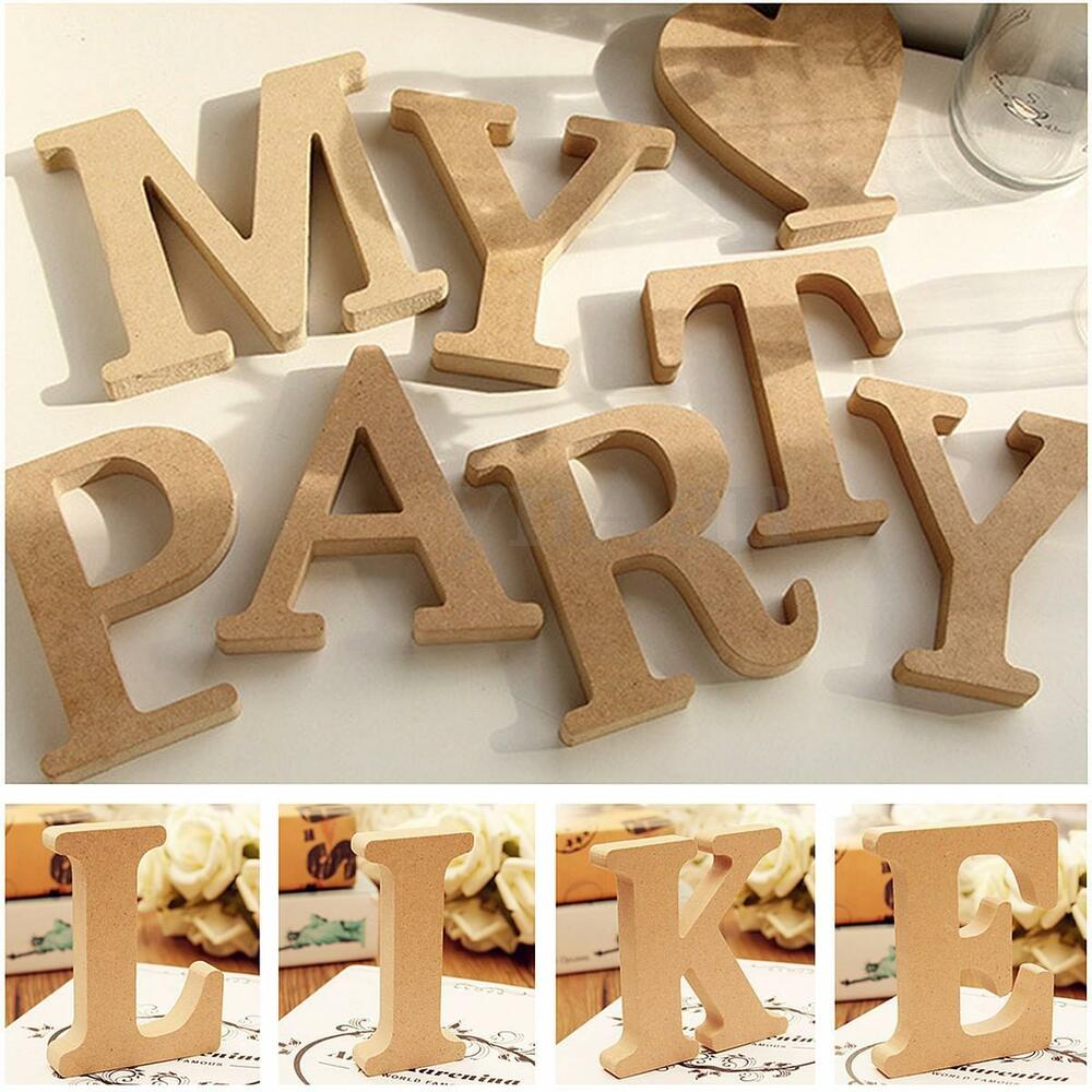 Best Freestanding A Z Wood Wooden Letters Alphabet Hanging This Month