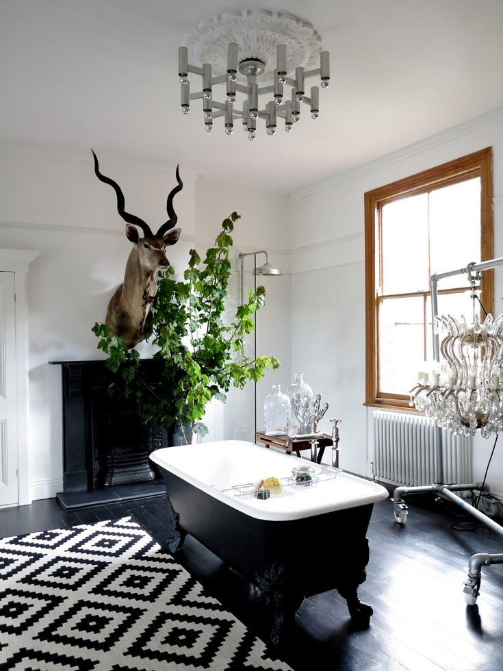 Best Eclectic Bathroom Decor Ideas That Will Impress You This Month
