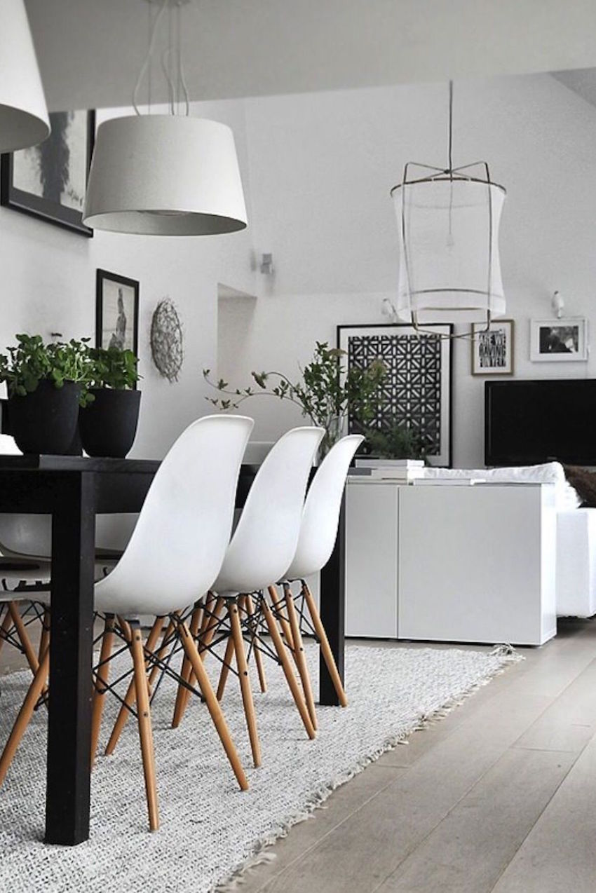 Best 10 Modern Black And White Dining Room Sets That Will This Month