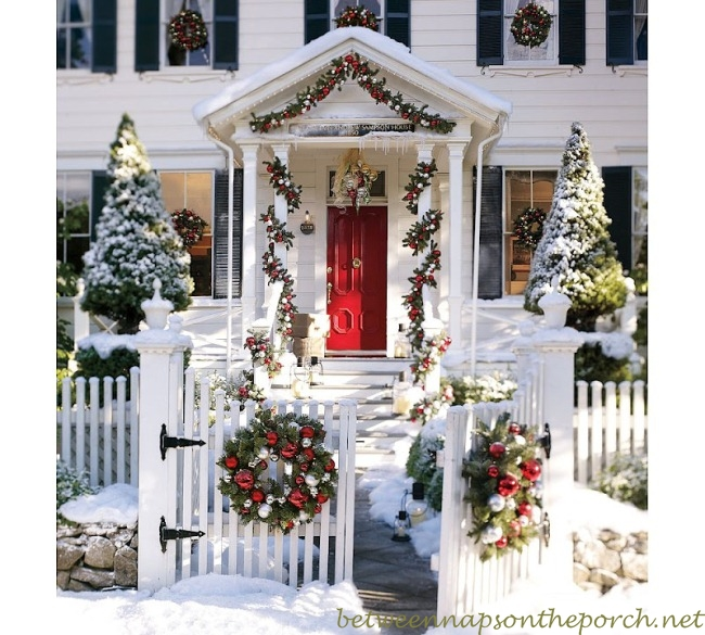 Best Christmas Porch Decorating Christmas Party Recipes This Month