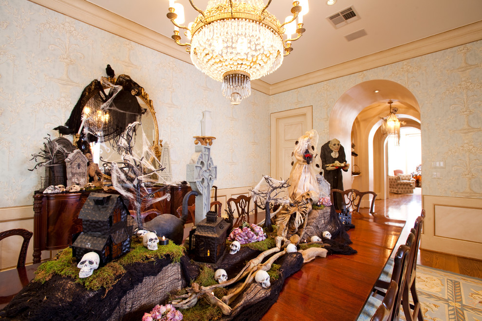 Best Halloween Home Tour How To Decorate Your Spooky Home This Month