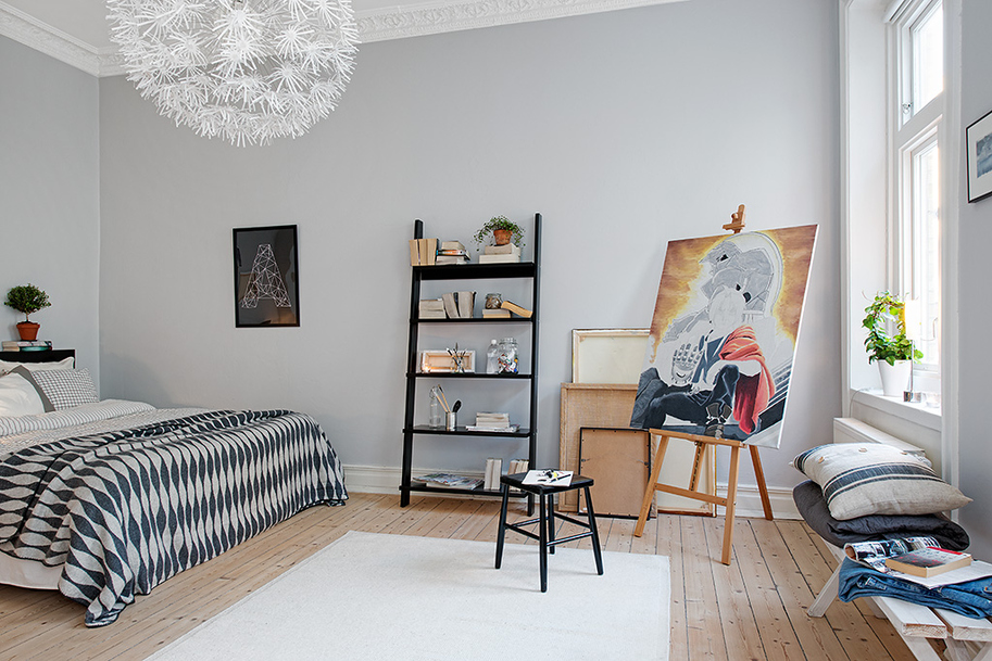 Best Swedish Apartment Boasts Exciting Mix Of Old And New This Month