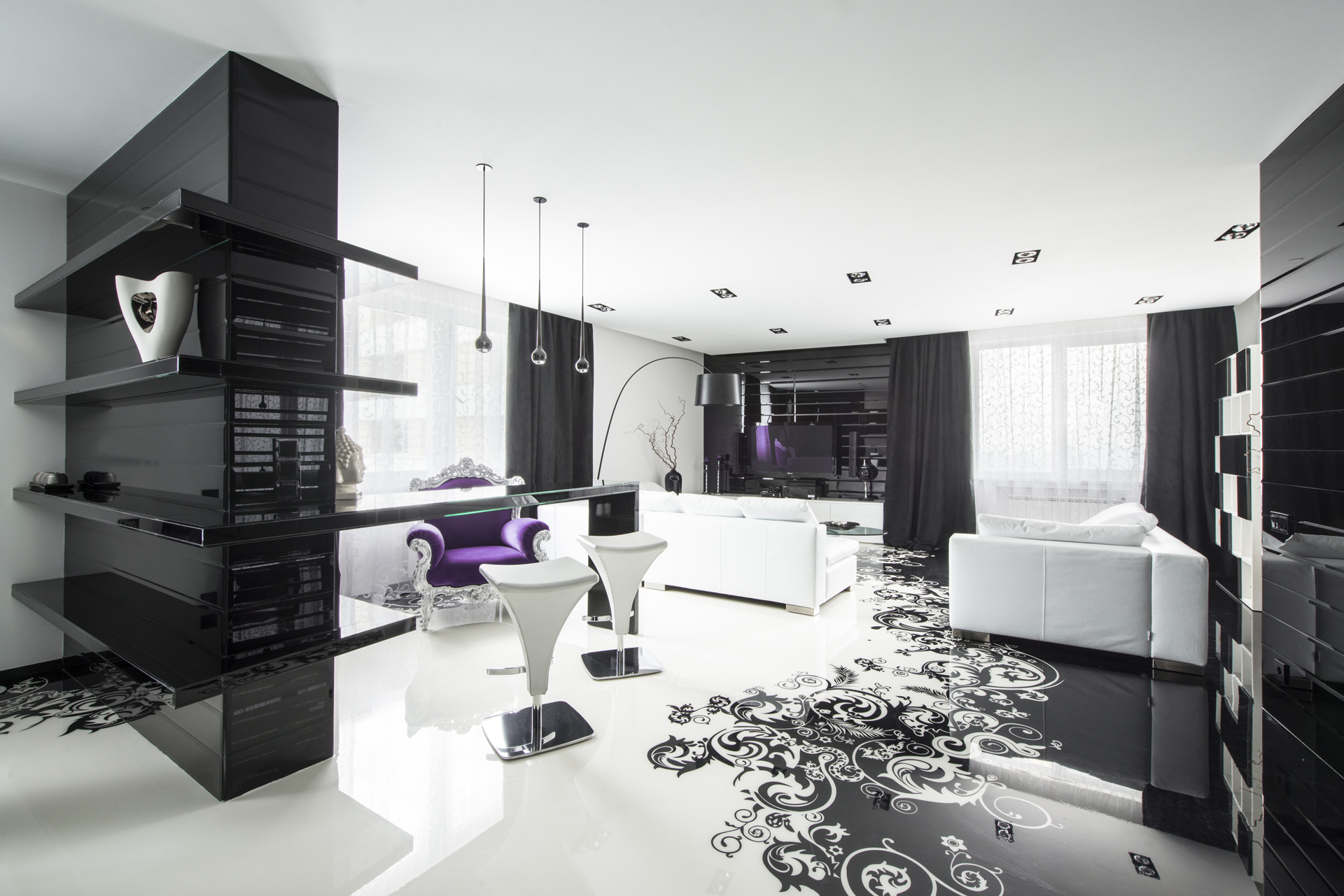 Best Black And White Graphic Decor This Month
