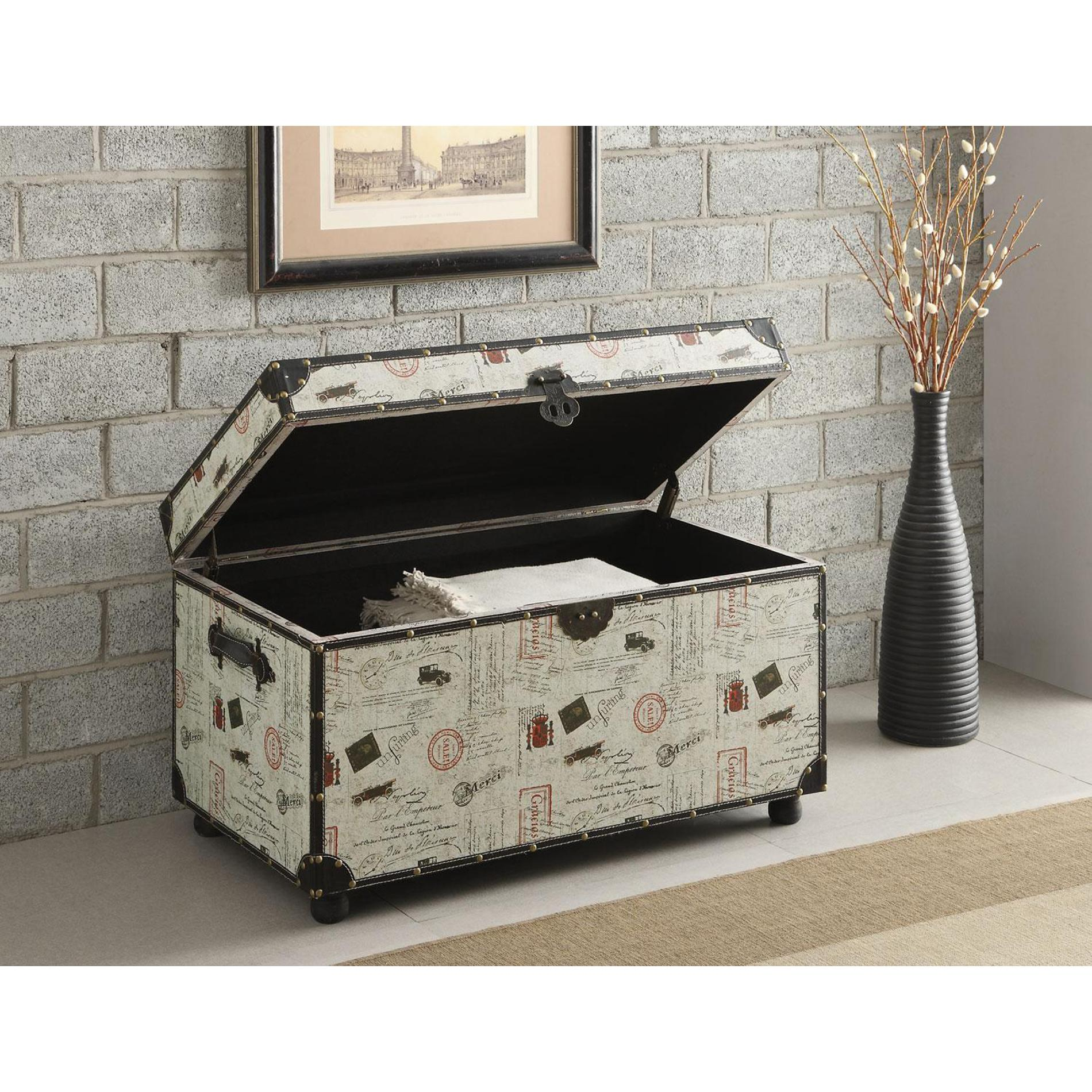 Best Venetian Worldwide Urbanite Storage Trunk Off White This Month