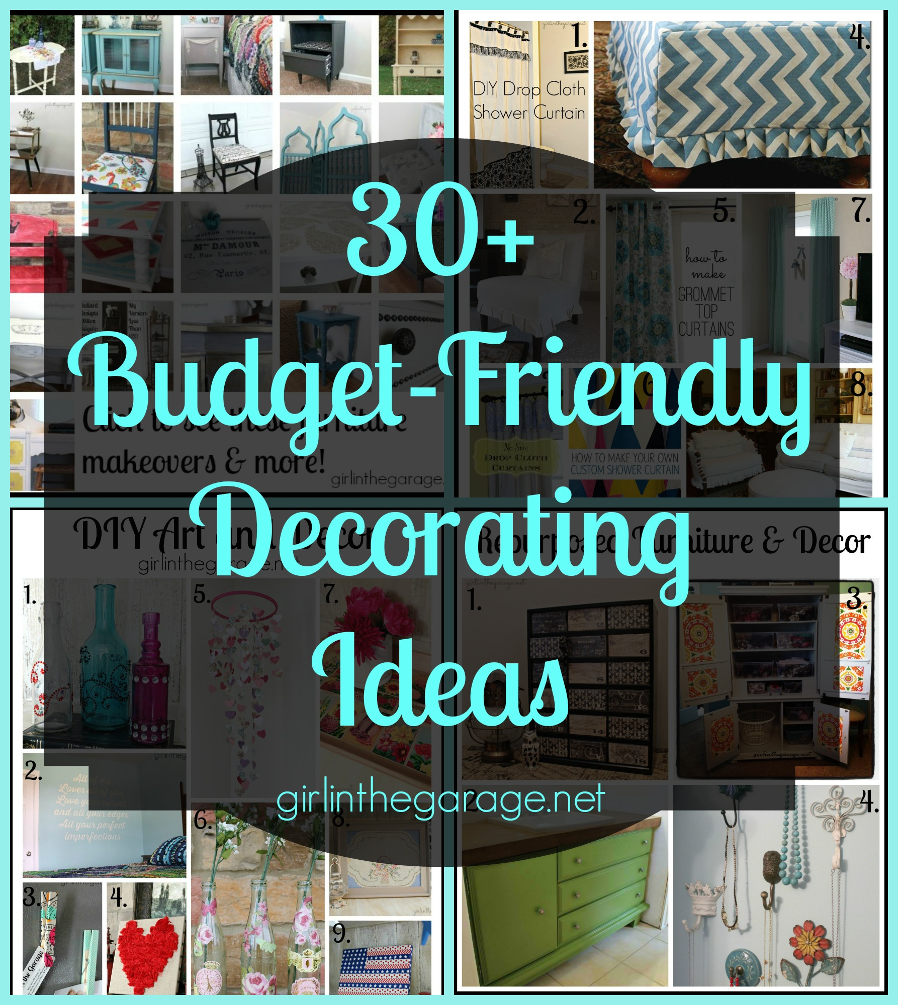 Best 30 Budget Friendly Diy Decorating Ideas Girl In The Garage® This Month