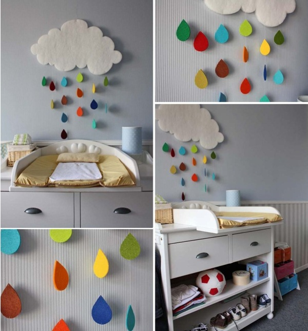 Best Gorgeous Rain Cloud Mobile Baby Room Decor Home Design This Month
