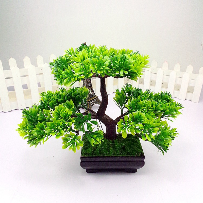 Best Aliexpress Com Buy 1Pc Welcoming Pine Emulate Bonsai This Month