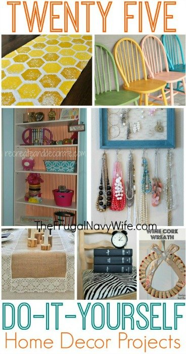 Best 25 Diy Home Decor Projects This Month