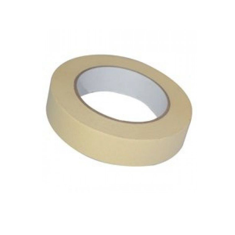 Best 1 X Quality Masking Tape 25Mm X 50M Indoor Outdoor General This Month
