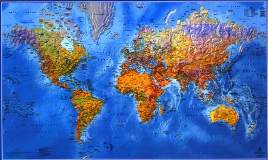 Best World Wall Map Decorative By Gabelli This Month