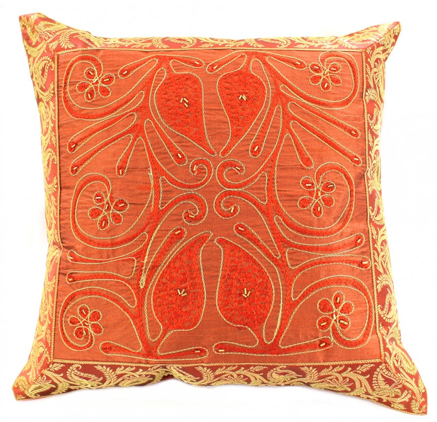 Best Ornamental Embroidered Throw Pillow Cover Set Of 2 This Month