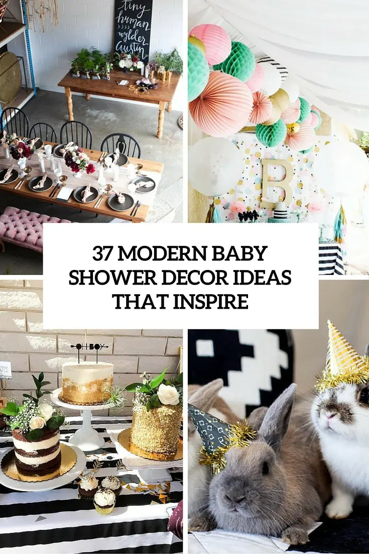 Best 37 Modern Baby Shower Décor Ideas That Really Inspire This Month