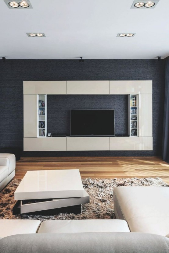 Best 32 Stylish Modern Wall Units For Effective Storage Digsdigs This Month