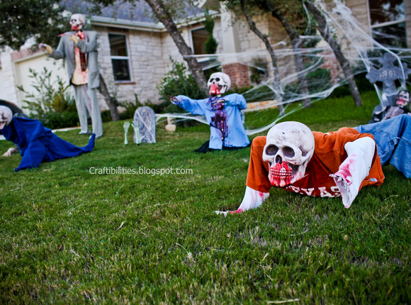 Best Diy Zombies Halloween Decor Yard Skeletons Easy And This Month
