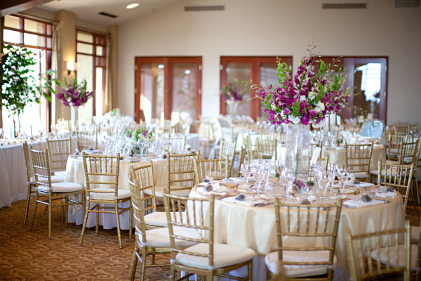 Best Purple White And Gold Wedding Reception Decor Elizabeth This Month