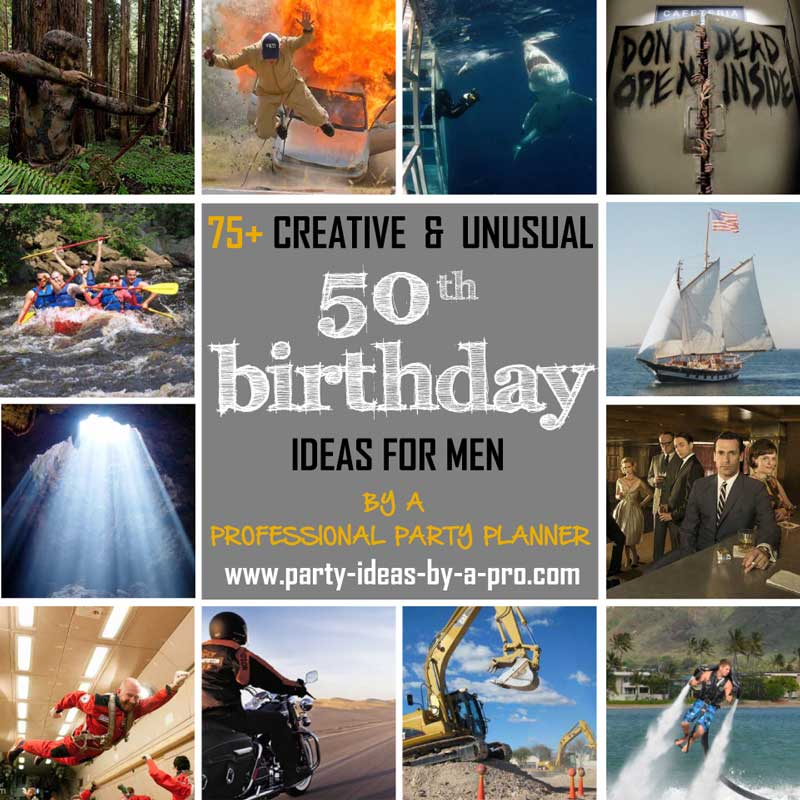 Best 75 Creative 50Th Birthday Ideas For Men —By A This Month