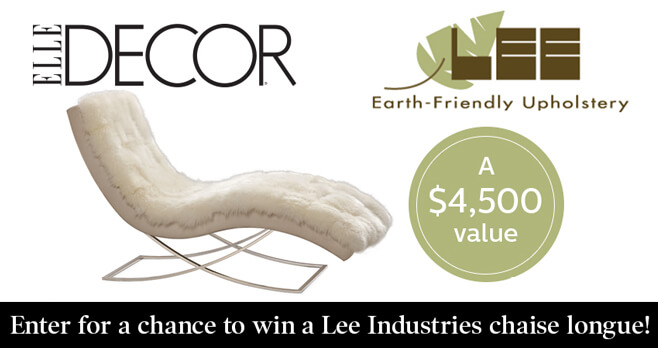 Best Elle Decor Lee Industries Sweepstakes This Month