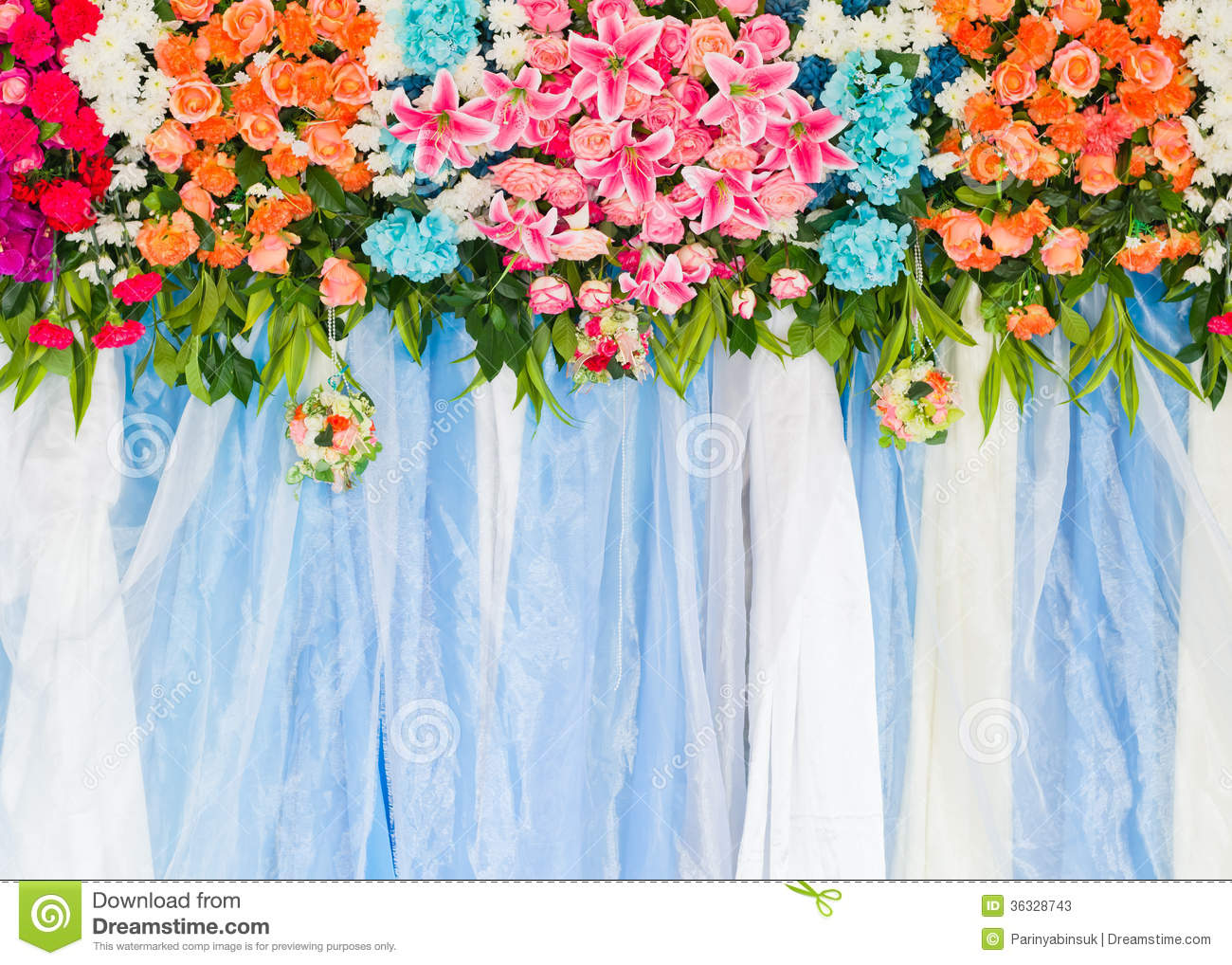 Best Beautiful Flower Wedding Decoration Stock Image Image Of This Month