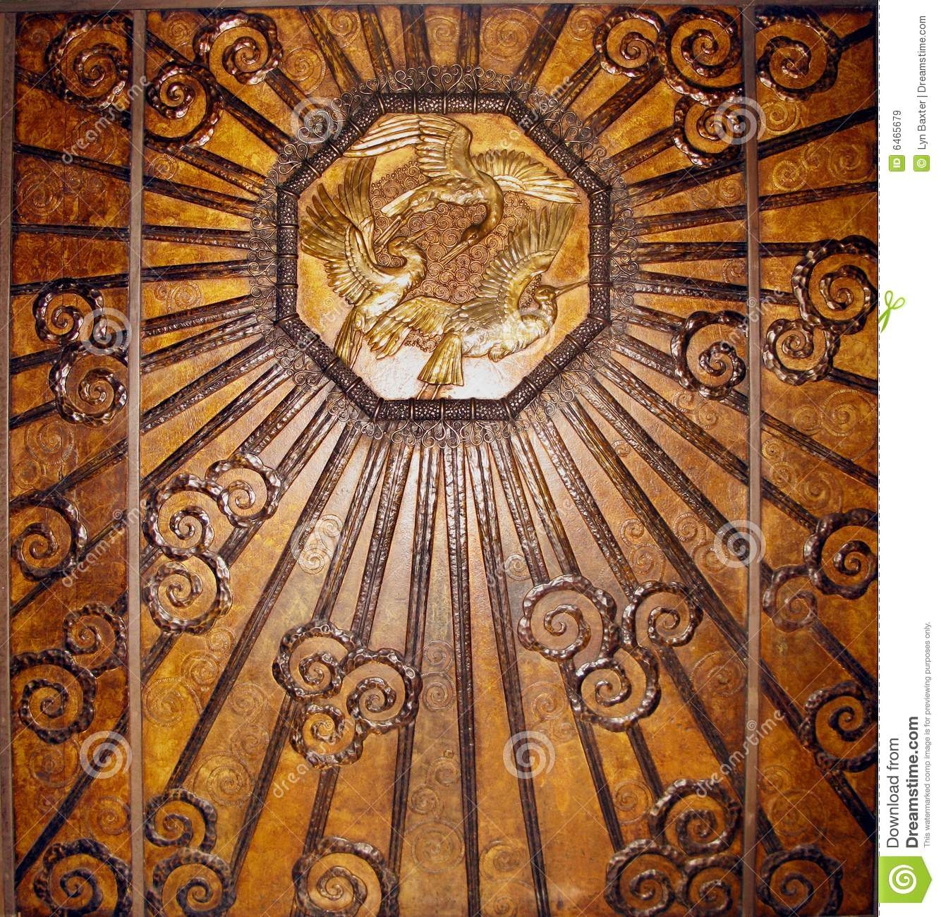 Best Bronze Art Deco Wall Stock Image Image Of Antique Rustic This Month
