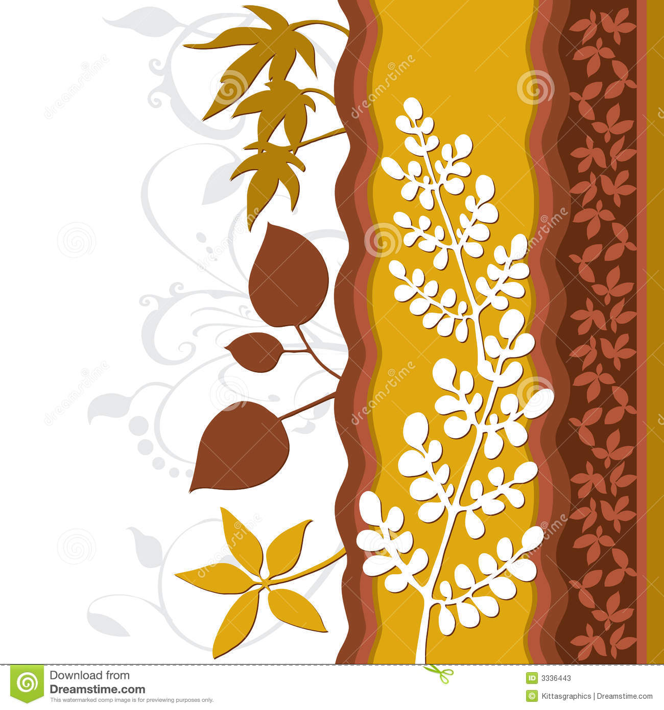 Best Foliage Leaf Decoration Art Stock Vector Image 3336443 This Month