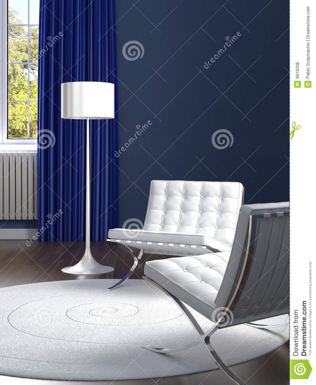 Best Interior Design Classic Blue And White Room Royalty Free This Month