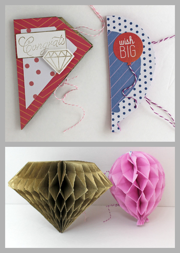 Best Honeycomb Card Decoration We R Memory Keepers Blog This Month