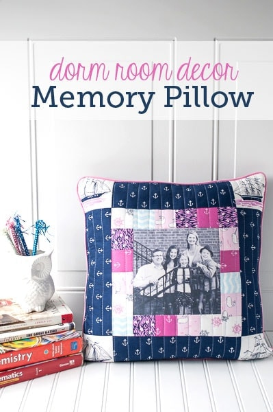 Best Dorm Room Decorating Ideas Memory Pillow Sewing Pattern This Month