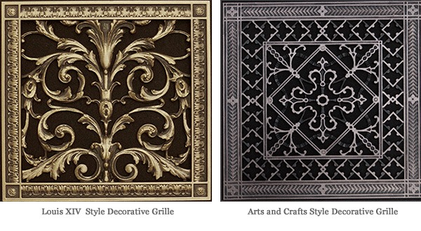 Best Decorative Vent Covers Beaux Arts Classic Products This Month