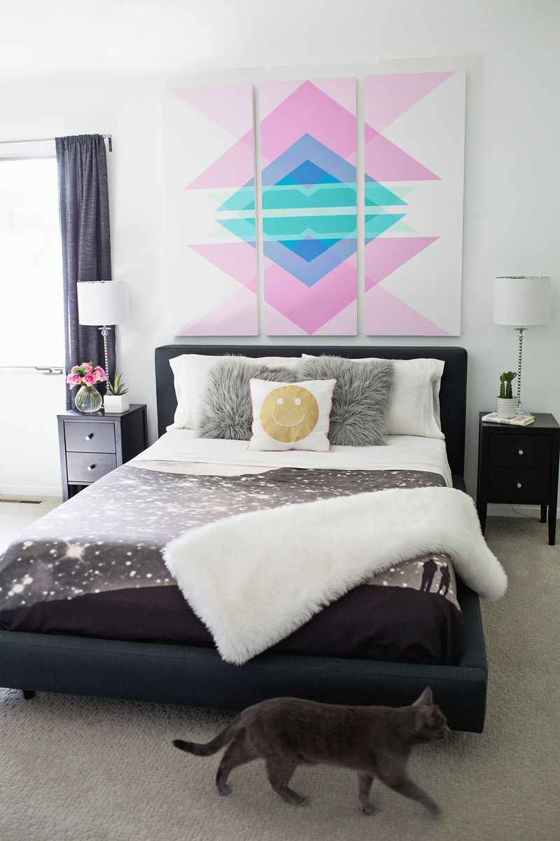 Best Remodelaholic 60 Budget Friendly Diy Large Wall Decor Ideas This Month