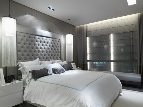Best 16 Modern Grey And White Bedrooms This Month