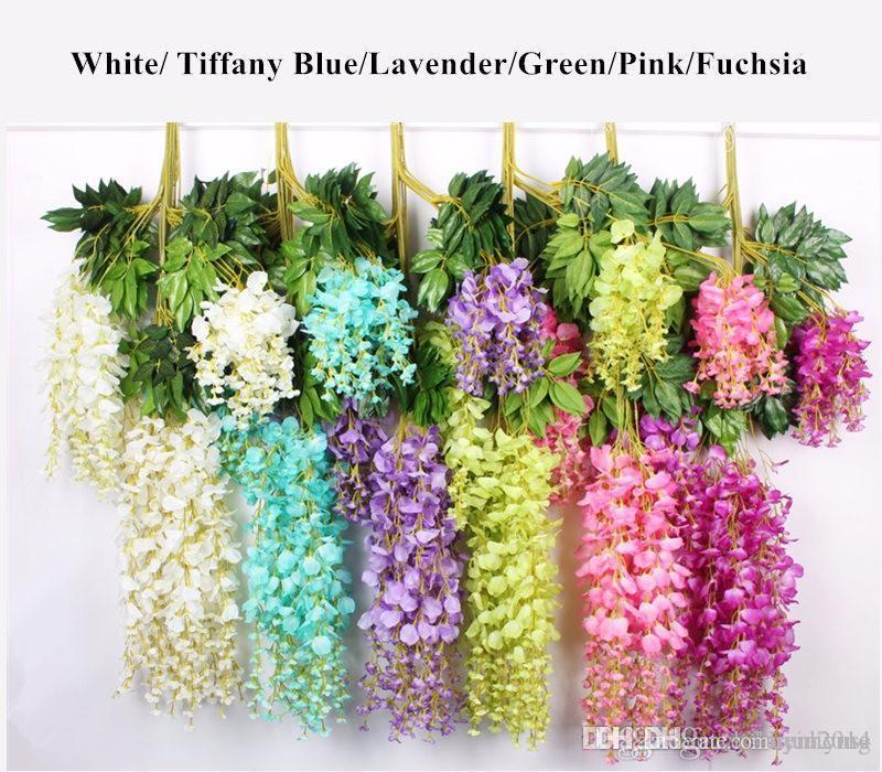 Best 2019 Upscale Artificial Bulk Silk Flowers Bush Wisteria This Month