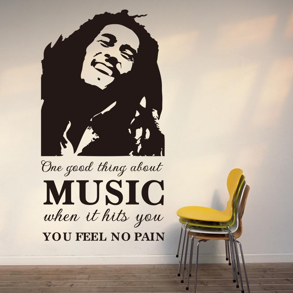 Best Vinyl Wall Art Stickers One Good Thing About Music Bob This Month