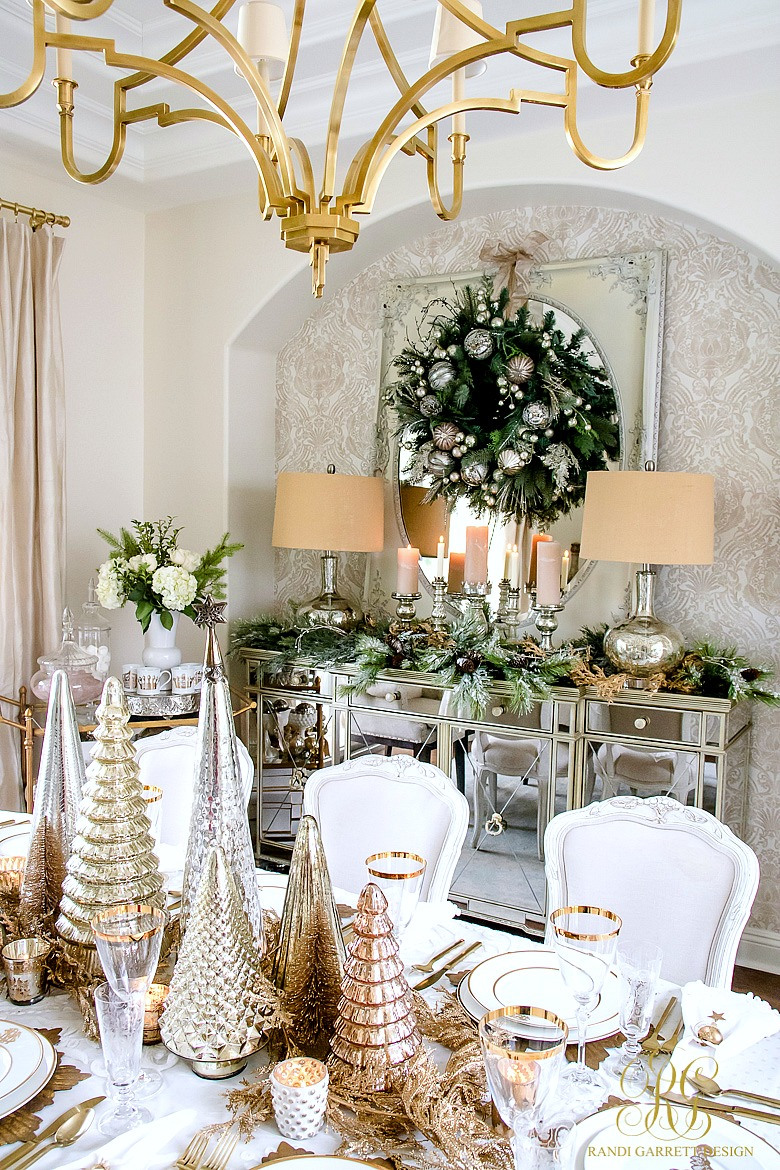 Best Elegant Traditional Christmas Dining Room By Decor Gold This Month