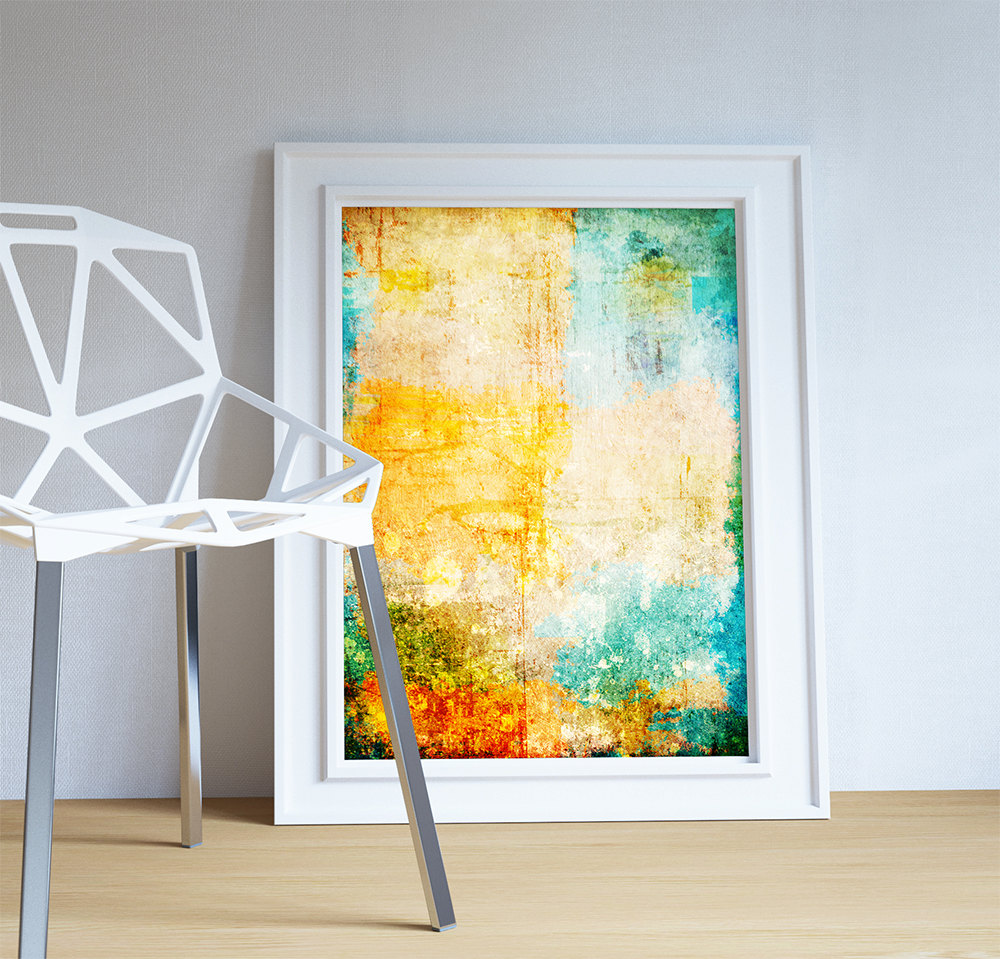 Best Abstract Art Print Abstract Corrosion Decor Modern Art This Month