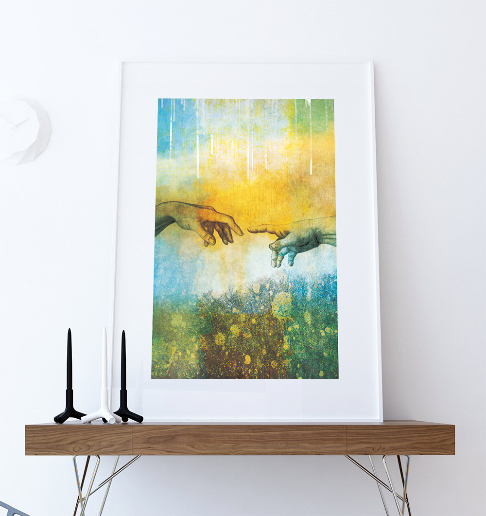 Best Abstract Art Print Abstract Touch Decor Giclee Print On This Month