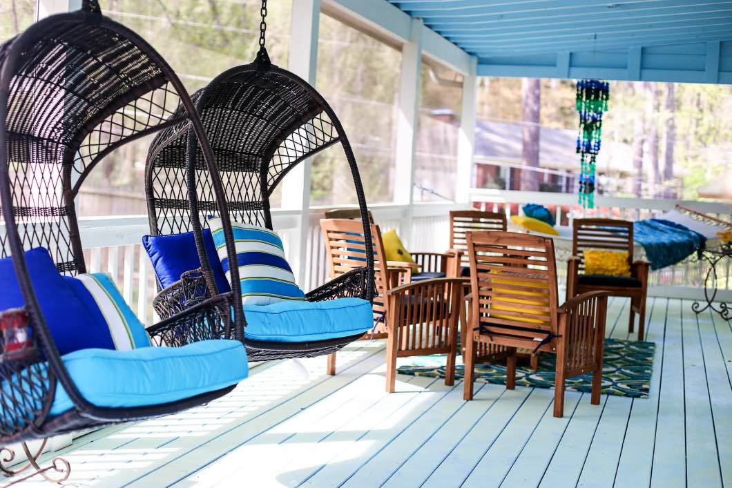 Best Back Porch Decorating Ideas Pier 1 Happily Hughes This Month