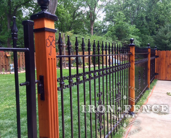 Best Iron Aluminum Fence Photo Gallery Iron Fence Shop This Month