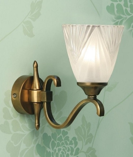 Best Etched Glass Art Deco Wall Light Single Or Double This Month