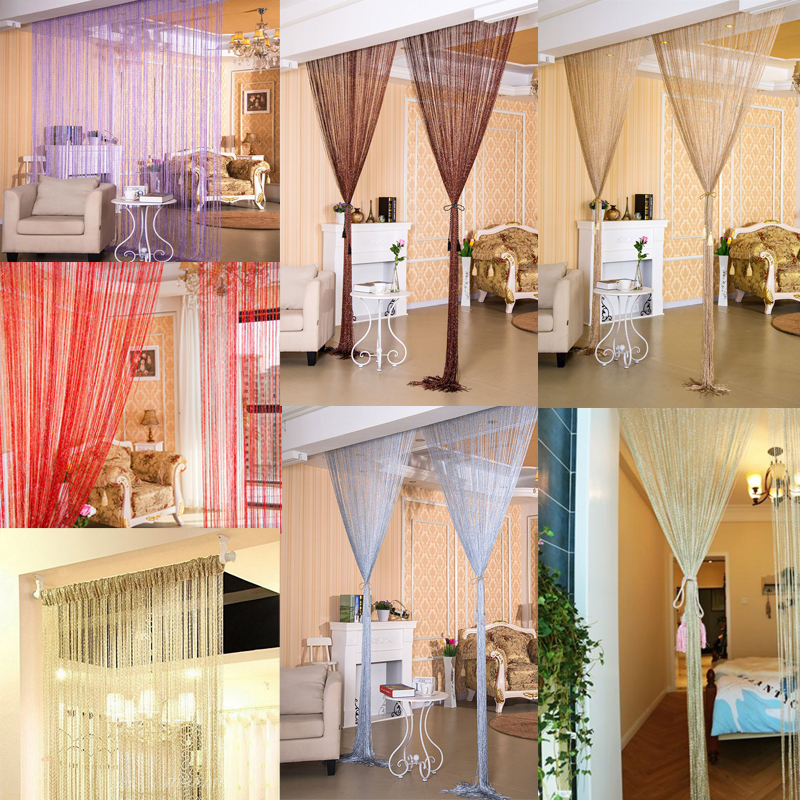Best Beads String Door Curtain Room Divider Window Panel Tassel This Month