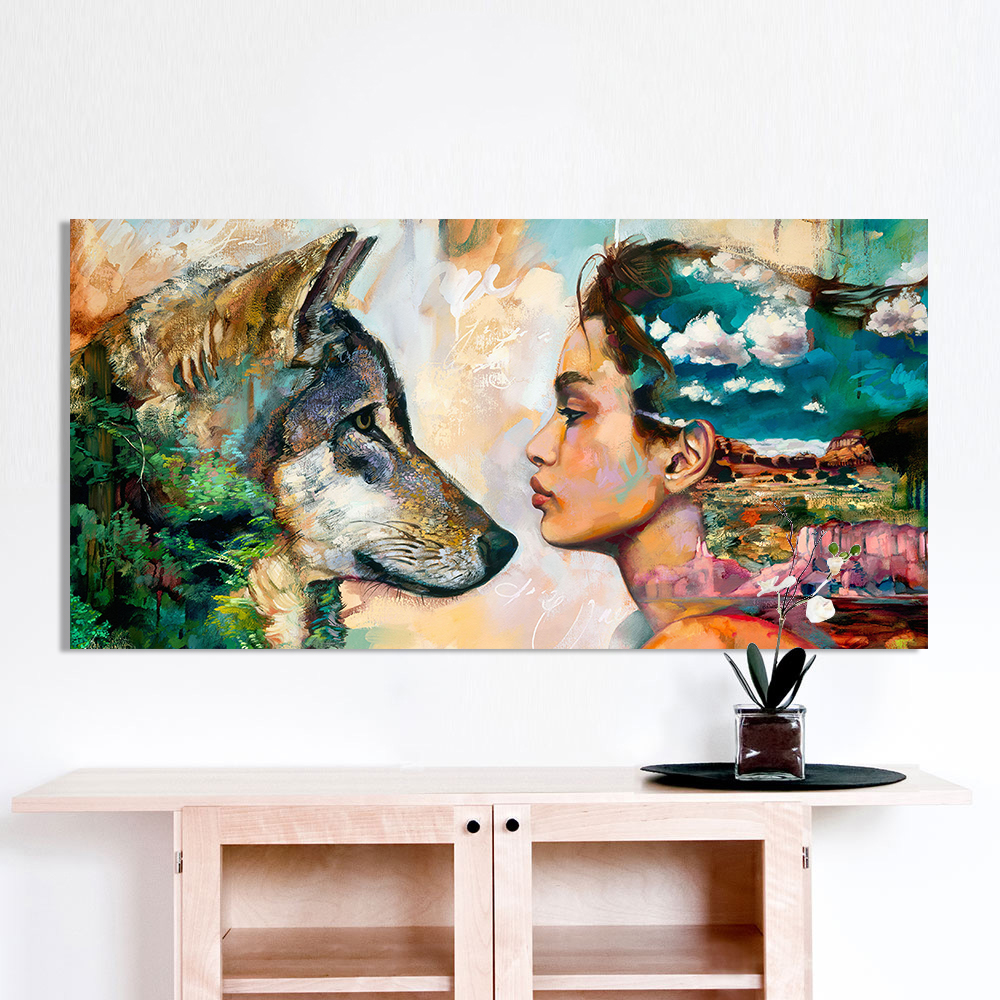 Best Aliexpress Com Buy Hdartisan Wall Art Canvas Animal This Month