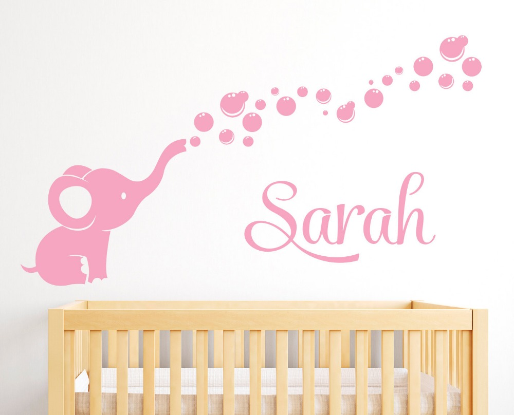 Best Soft Pink Vinyl Wall Decals For Girls Boys Bedroom Baby This Month